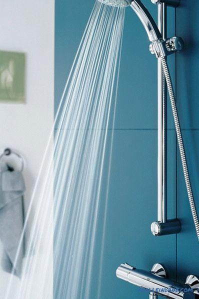 Skryté sprchy vid